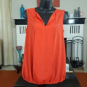 LOFT red blouse
